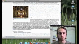 WikiWars - Evan versus Michael
