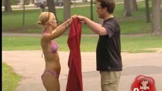 Sexy Bikini Nun - funny hidden camera prank
