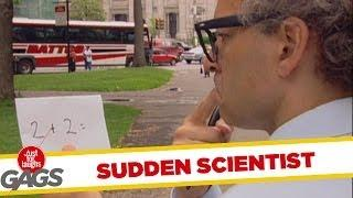 Eureka! Crazy Scientist - funny video