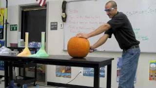 Exploding Pumpkin - Halloween Science Chemistry Demonstration