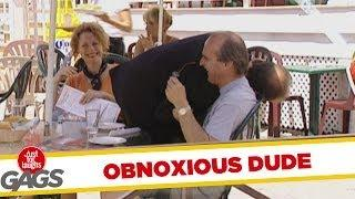 Obnoxious Businessman - funny video