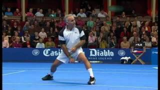 Mansour Bahrami - Great Tennis Entertainer