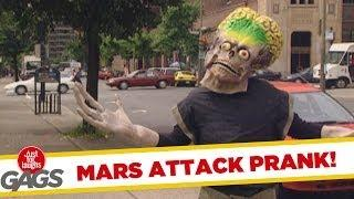 Mars Attack in real life - crazy prank
