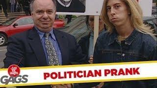 Politician Handshake - hidden camera