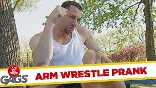 Arm Wrestling Surprise - funny video