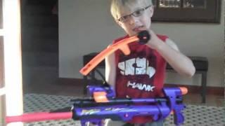 Pulling a tooth using a Nerf Gun
