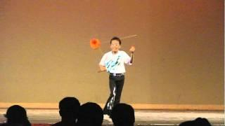 Kid with Diabolo skills