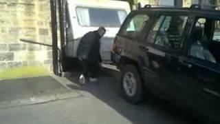 Give it More Gas! - Camper Stuck in Alley