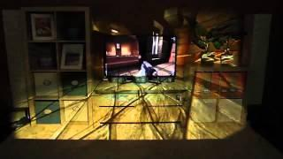 Microsoft IllumiRoom - table projector for Xbox