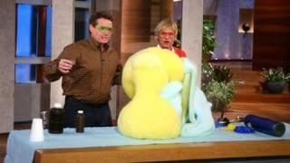 Steve Spangler on The Ellen Show September 2007