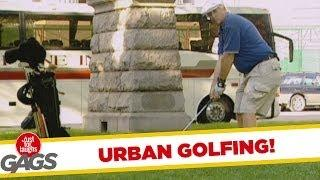 Urban Golfing - funny video
