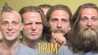 Trim // reverse haircut // Dear Beard
