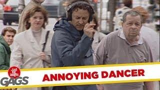 Annoying Dancer - funny prank