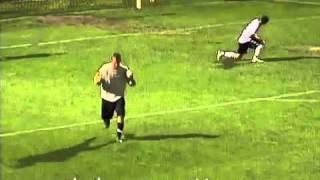 Bizarre penalty kick - Italian Serie D