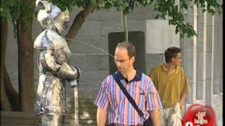 Spitting Medieval Armor - Hidden Camera Joke