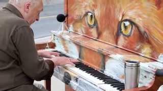 """Michael McNamara plays """"Say Something"""" piano song"""