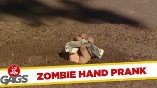 Zombie Hand - Scary Prank