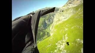Jeb Corliss wing-suit demo