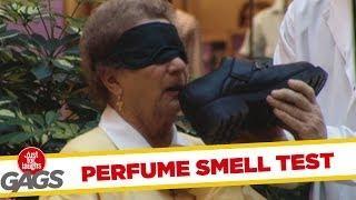 Blind Parfume Smell Test - crazy joke