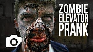 Zombie Elevator Prank - The Rising Dead