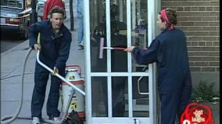 Phone Booth Cleaning - Funny Prank
