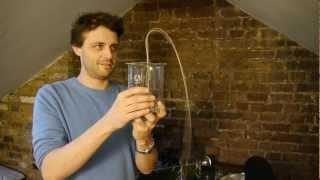 Self siphoning beads