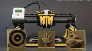 "LEGO 3D Milling Machine - ""3D Printer"""