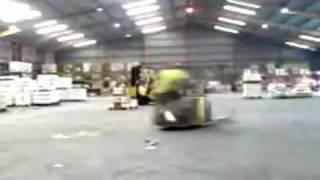 Spinning Forklift Showoff