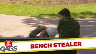 City Official steals bench