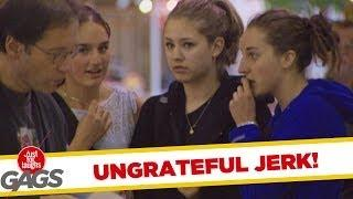 Ungrateful Jerk - funny joke
