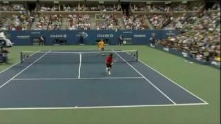 Roger Federer best point in tennis history