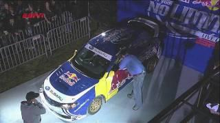 Travis Pastrana jumps 269 feet in rally car