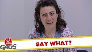Say What? - funny video