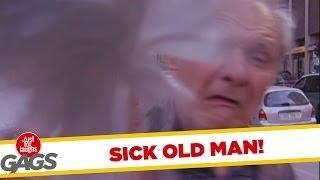Sick Old Man - crazy joke