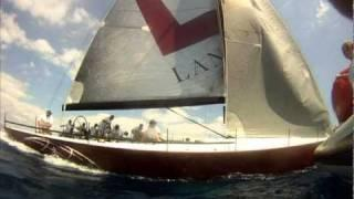 Near Miss Race Yacht