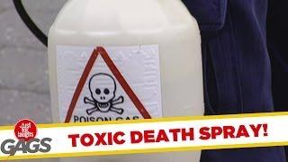 Gratis toxic death-spray for everyone