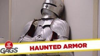 Haunted Medieval Armor - funny video