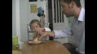 A father plays a prank on his daughter