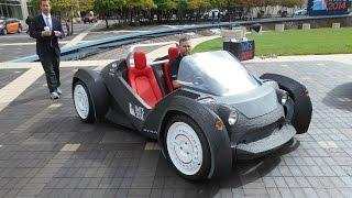 Strati - The first 3D printed car.