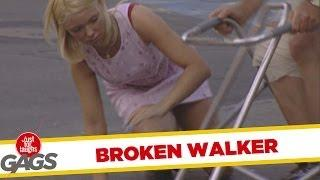 Broken Walker - crazy prank
