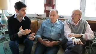 Ben Aaron talks to old friends.