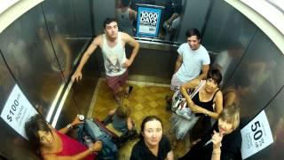 Elevator Farts - funny prank