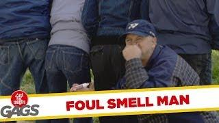 Foul smell man - funny video