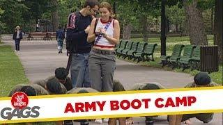 Improvised Army Training - funny video