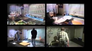RoomAlive: Magical Experiences Enabled by Scalable, Adaptive Projector-Camera Units