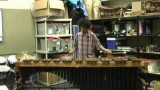 Tetris theme song played on Marimba
