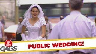 Public wedding - crazy joke