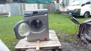 Self Destructing Washing Machine