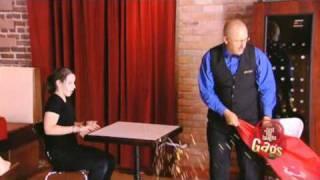 Table Cloth Pull Failure - crazy prank