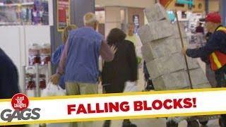 Cinder Blocks Fall On People